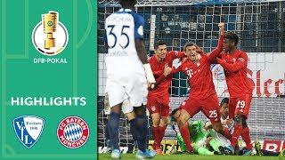 VfL Bochum vs. FC Bayern München 1-2   Highlights   DFB Cup 2019/20   2nd Round
