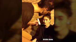 Halloween Party || Mahum Irfan Face Painting || by Atta Ayaan Khan ||