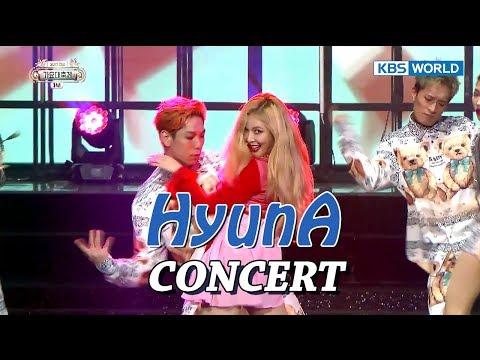 HyunA CONCERT | 현아 콘서트 [SUB: ENG/CHN/2017 KBS Song Festival(가요대축제)]