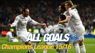 Every Champions League goal 2015/16 | Ramos, Bale, Cristiano, penalties in Milan & a record 8-0 win!