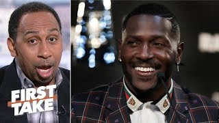 Antonio Brown looks weak for saying he has no beef with Vontaze Burfict - Stephen A. | First Take