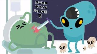 Dumb WAYs To Die 2 - New Space Alien👽   AREA FIFTYDUMB All Funny Ways TO Die