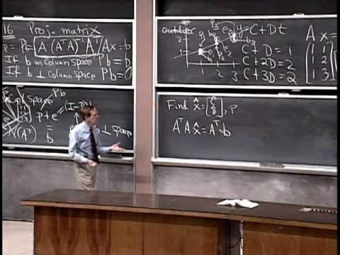 Baixar Lec 16 | MIT 18.06 Linear Algebra, Spring 2005