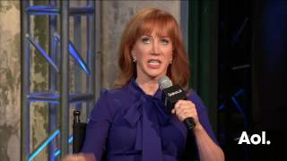 """Kathy Griffin Discusses Her Book, """"Kathy Griffin's Celebrity Run-Ins"""" 