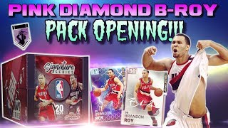 Pink Diamond BRANDON ROY Pack OPENING LIVE on Nba 2k19 MYTEAM!