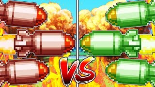 MINECRAFT 3VS3 RED VS GREEN MISSILE WARS