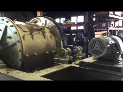 6K-53 1 Unit - VANCOUVER ENGINEERING WORKS 3' x 3' Ball Mill with 7.5 HP Motor (2 of 2)