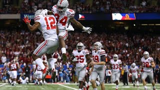 Ohio State vs Alabama 2015 Sugar Bowl