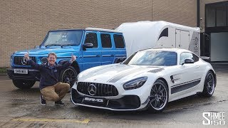 IT'S HERE! Collecting My New AMG GT R PRO!