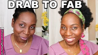 Simple Ways to Style Protective Styles on Natural Hair   GIVEAWAY   Discovering Natural