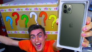 UNBOXING $100,000 EBAY MYSTERY BOX (OMG IPHONE 11 PRO!?)