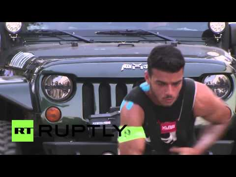 UAE: Strongmen Muscle In On Strongest Man Comp - Smashpipe Autos