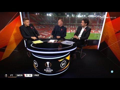 Man United 3-0 Partizan Post Match Analysis;Owen Hargreaves & Paul Scholes SHOCK  UEFA Europa League