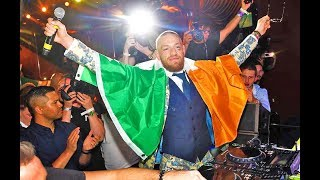 Conor McGregor Throws Big Party after Mayweather vs McGregor