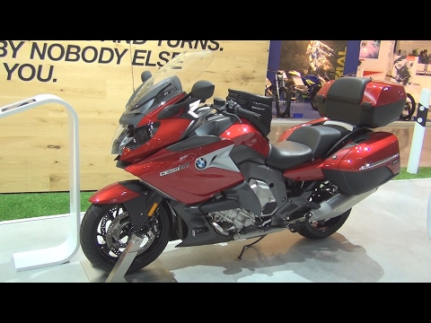 @BMWMotorrad K 1600 GT Vermilion Red Metallic (2017) Exterior and Interior in 3D