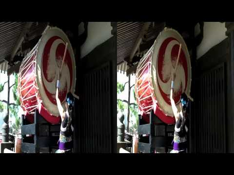 Epcot Japan Taiko Drummers in 3D (yt3d:enable=true)