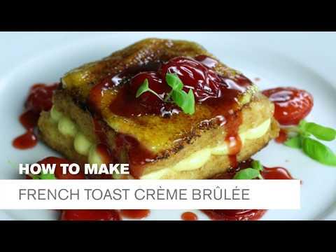 National Crème Brûlée Day: French Toast Crème Brûlée
