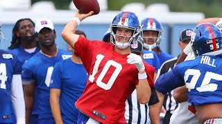 How Important Is the Preseason For Eli Manning? | New York Giants