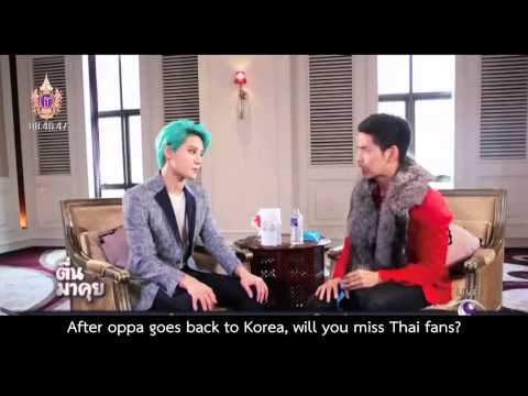 [ENGSUB] 150325 Kim Junsu's Interview on TMK, Thai Modernine TV