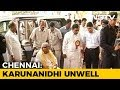 TN Ministers, Kamal Haasan visit unwell DMK chief Karunanidhi
