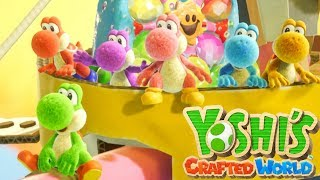 Yoshi's Crafted World - Full Game Walkthrough