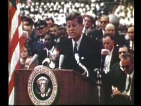 John F Kennedy's Rice Stadium Moon Speech