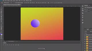 Create a bouncing ball animated GIF in Photoshop