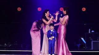 Grand reunion of DO RE MI and Regine Velasquez with son!