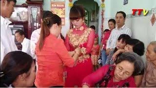 xót xa cô dâu mang bầu làm đám cưới một mình vì chú rể đột ngột qua đời - TTV -