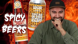 Beer Lovers Try Spicy Beers