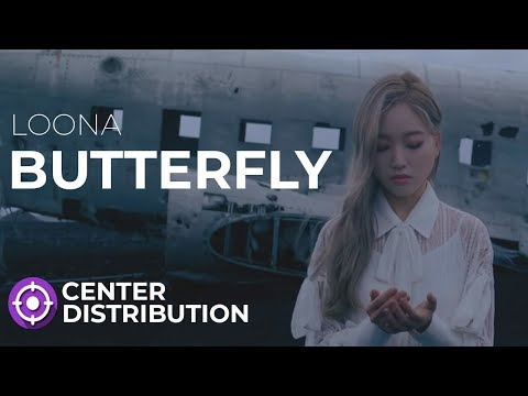 LOONA - BUTTERFLY | Center Distribution (Color Coded)