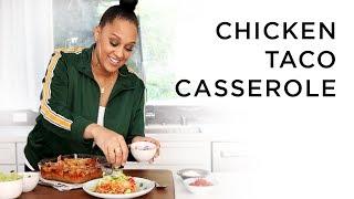 Tia Mowry's Chicken Taco Casserole | Quick Fix