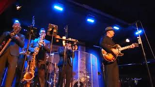 "Big Bad Voodoo Daddy ""Minnie The Moocher"" (Partial Clip) At City Winery NYC 3-25-19"