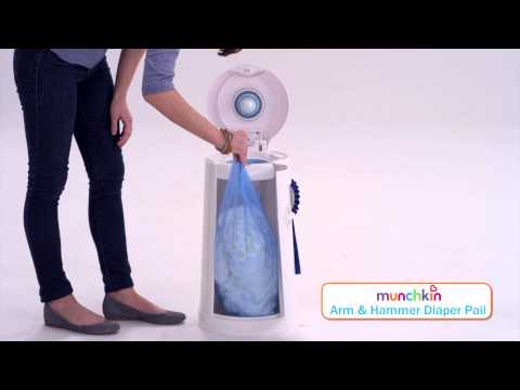 Buy Diaper Pail for Safe Disposal of Diapers from Munchkin