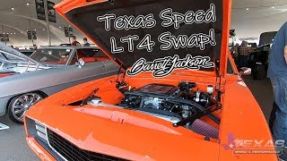 Barrett Jackson Scottsdale 2019 with Texas Speed!! The LT4 1969 Camaro Rolls Across The Block!