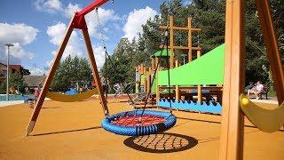 Nowy plac zabaw i teren rekreacyjny powstał przy ul. Bielawskiej w Ostrowie. Inwestycja obejmowała wyko