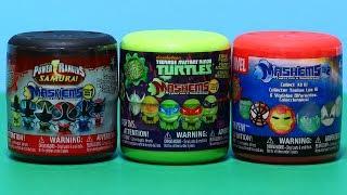 Marvel, Power Rangers, Teenage Mutant Ninja Turtles Mash'ems