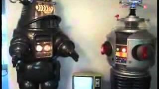 B9 and Robby Robot