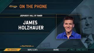 Jeopardy! Champ James Holzhauer Talks Record-Setting Run & More w/Dan Patrick | Full Interview