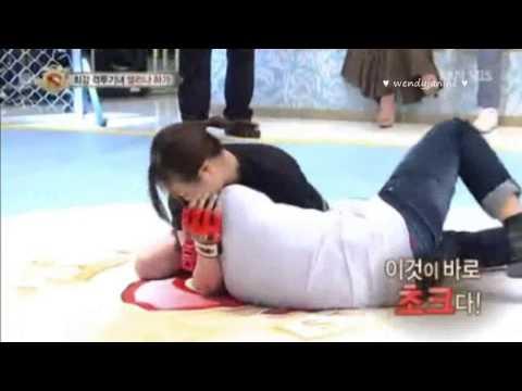 130713 Starking EXO Baekhyun Wrestling Cut