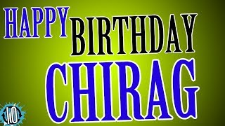 HAPPY BIRTHDAY CHIRAG! 10 Hours Non Stop Music & Animation For Party Time #Birthday #Chirag
