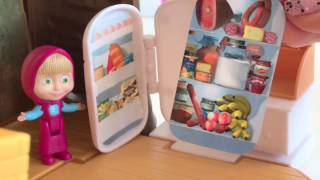 Masha And The Bear TEA TIME PLAY KITCHEN Маша и медведь | itsplaytime612 Toys Play