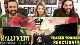MALEFICENT 2: Mistress of Evil -  TRAILER REACTION!!!