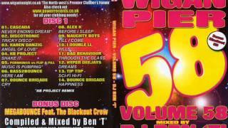 Wigan Pier Volume 58 - Bonus disc - Megabounce ft Blackout crew