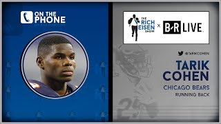 Bears RB Tarik Cohen Talks Trubisky, Nagy, Bar Mitzvahs & More with Rich Eisen | Full Interview