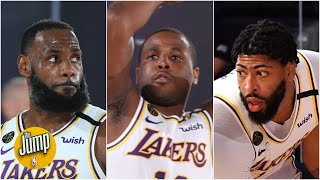 What the Lakers' first scrimmage means for LeBron, Anthony Davis and Dion Waiters | The Jump