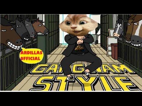 Park Jae Sang (PSY) - Gangnam Style ''El Baile del Caballo'' (Alvin y las Ardillas)