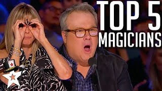 TOP 5 Magicians on America's Got Talent 2020 | Magicians Got Talent