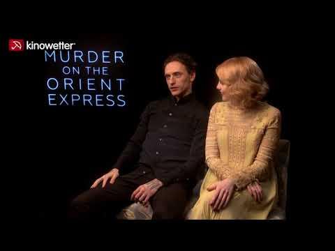 Interview Sergei Polunin & Lucy Boynton MURDER ON THE ORIENT EXPRESS