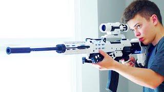 Crazy Nerf Gun Mod Arsenal